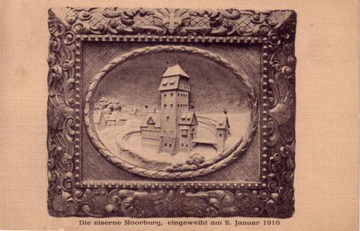 Postkarte eiserne Moorburg